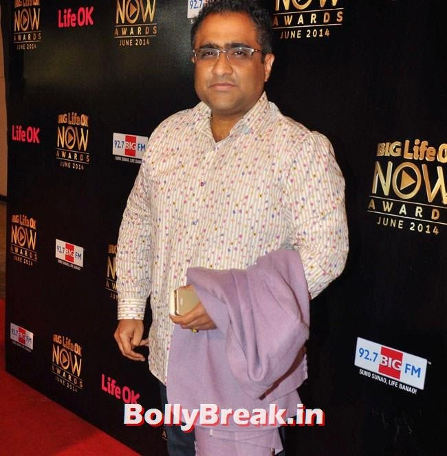 Kunal Ganjawala, Life OK Now Awards 2014 Red Carpet Pics