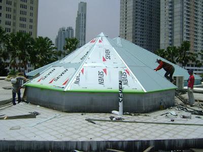 cara pemasangan aluminium composite panel