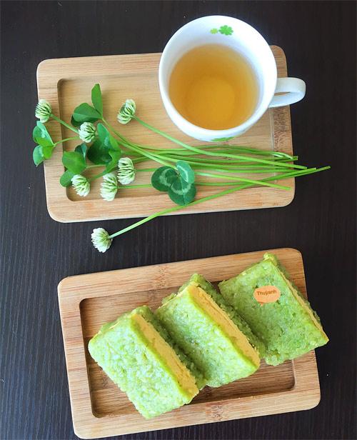 Bánh cốm đậu xanh