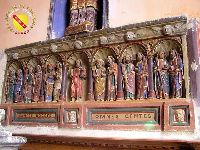 PAREY-SAINT-CESAIRE (54) - L'église Saint-Césaire - Retable XVIe