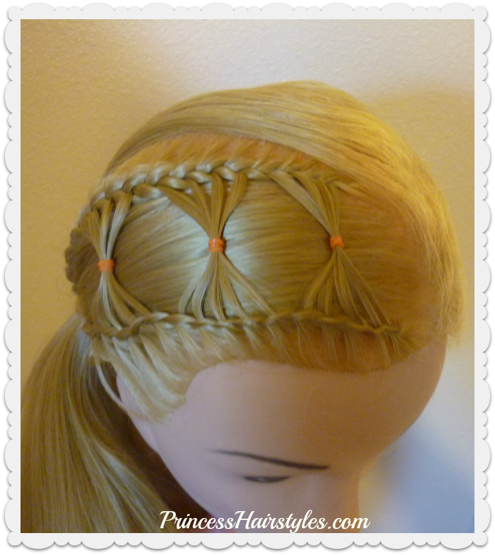 Bow Tie Braid, Braided Hairstyle For Long Hair ...
