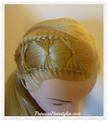 Bow Braid Hairstyle Video Tutorial