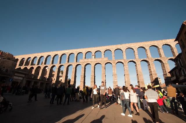 segovia, madrid, gezi, ispanya, blog, seyahat, yurtdışı, roma su kemeri