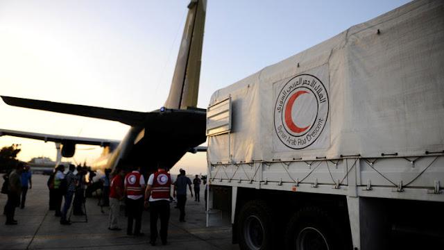 Atacan un convoy humanitario de la ONU en Siria