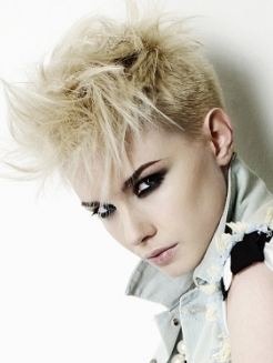 Awesome Short Punk Hairstyles For Girls Global Hairstyles Short Hairstyles Gunalazisus