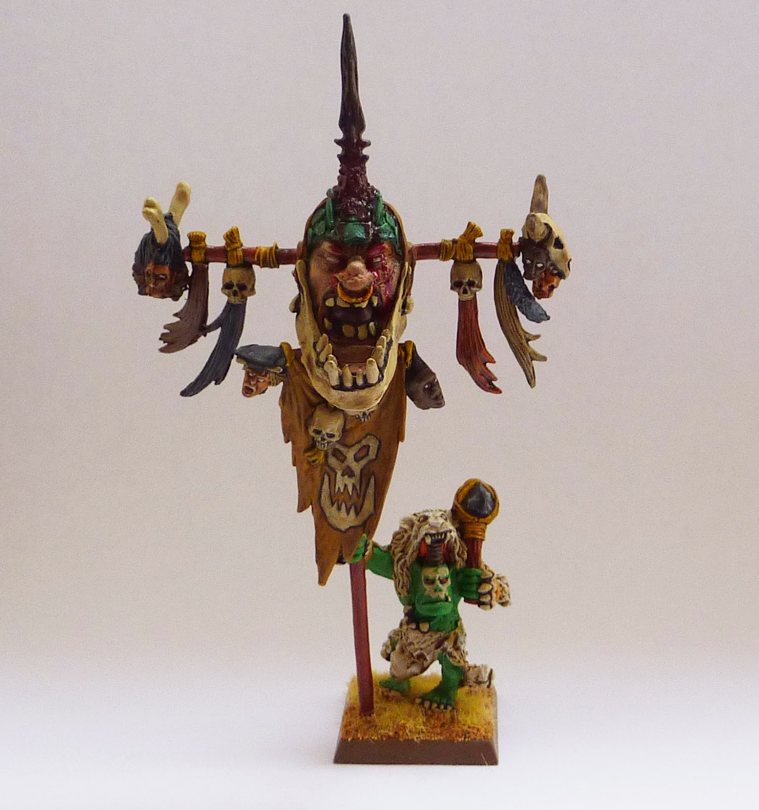 Savage Orc Battle Standard conversion
