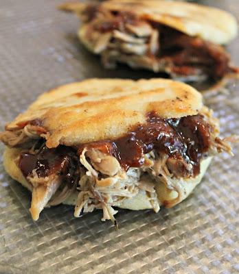 BBQ Pulled Pork Arepa Recipe