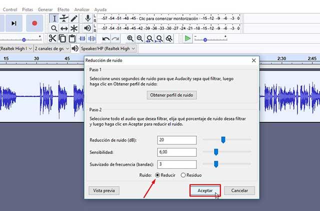 reduce el ruido de tus grabaciones