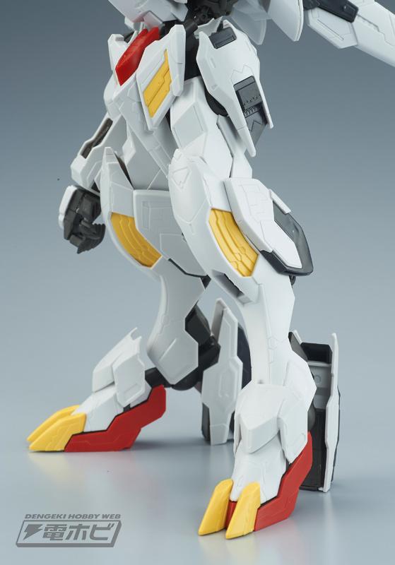 1/100 Full Mechanics Gundam Barbatos Lupus Rex Sample Images by Dengeki Hobby