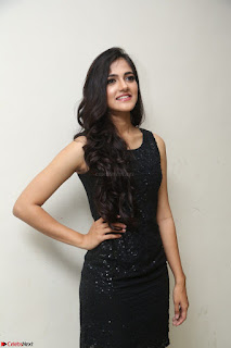 Simran Chowdary Model in Beautiful Black Dress at FBB Miss India 2017 finalists at Telangana auditions (19).JPG