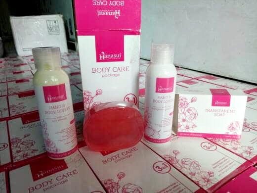 Paket Hanasui Body Care 3In1 Bpom