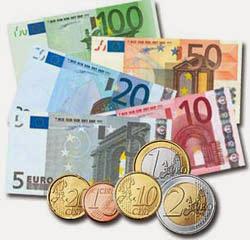 Resultado de imagen de monedas y billetes niños