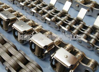 Đặc điểm xích tải công nghiệp sản xuất xe máy