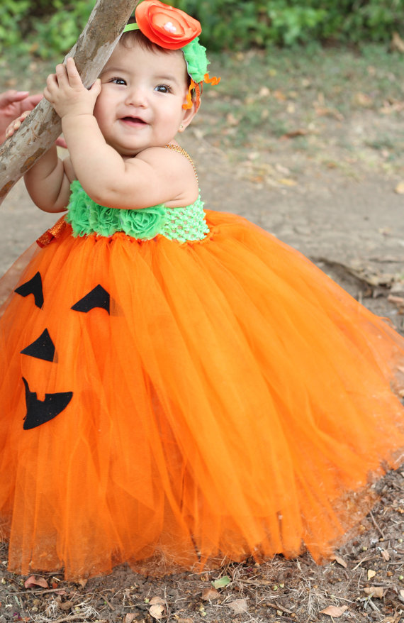 Halloween Tutu Costumes: Halloween Baby Tutus: Halloween Girls Tutus Your little angel will definitely be chosen for the best Halloween costume when she enters the party in one of our custom made tutu halloween costumes.