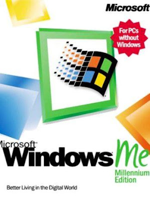 embalagem do Windows ME