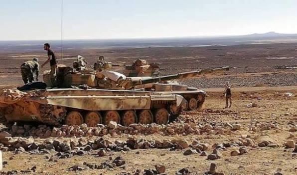 الجيش يحبط محاولات ارهابيي داعش في بادية السويداء كسرالطوق والفرار باتجاه التنف.