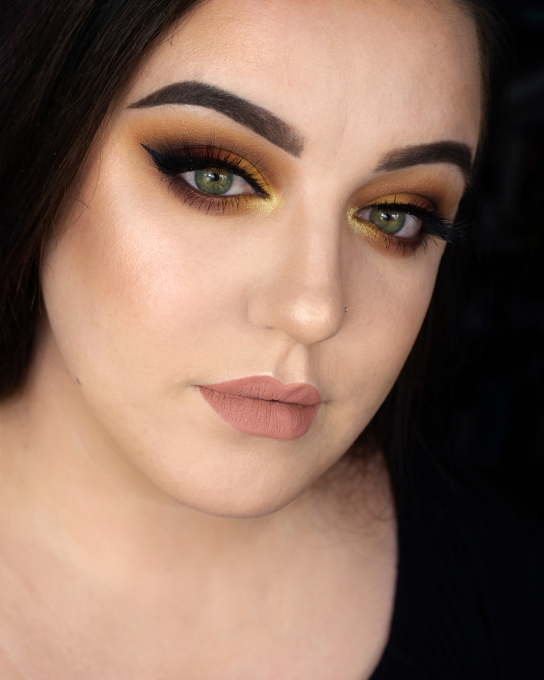 Jesienny makijaż krok po kroku - ABH Subculture