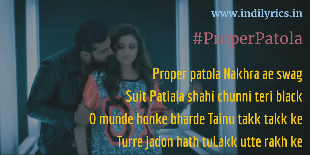 Proper Patola Movie Mp3 Song Download