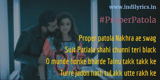 Proper Patola Nakhra Ae Swag | Ft. Badshah | Namaste England | Full Song Lyrics with English Translation and Real Meaning