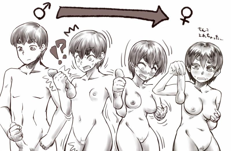 permanent tg bodysuit hentai