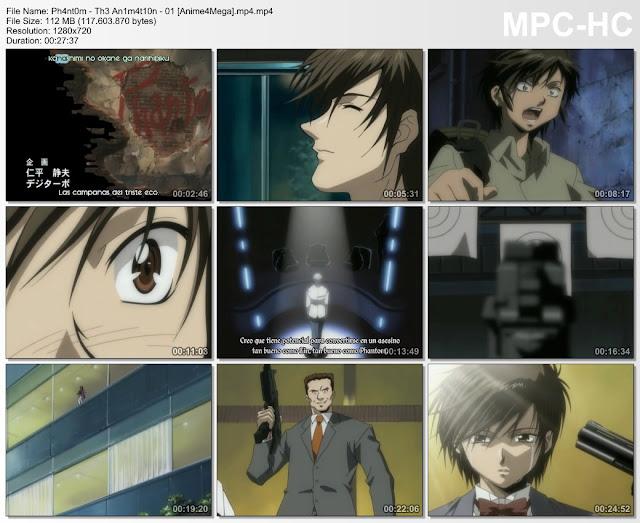Phantom: The Animation capturas episodio 1