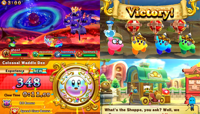 Team Kirby Clash Deluxe Screenshots