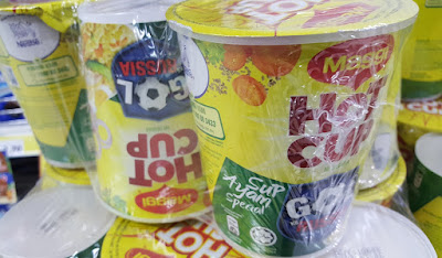 Maggi Hot Cup World Cup packaging.