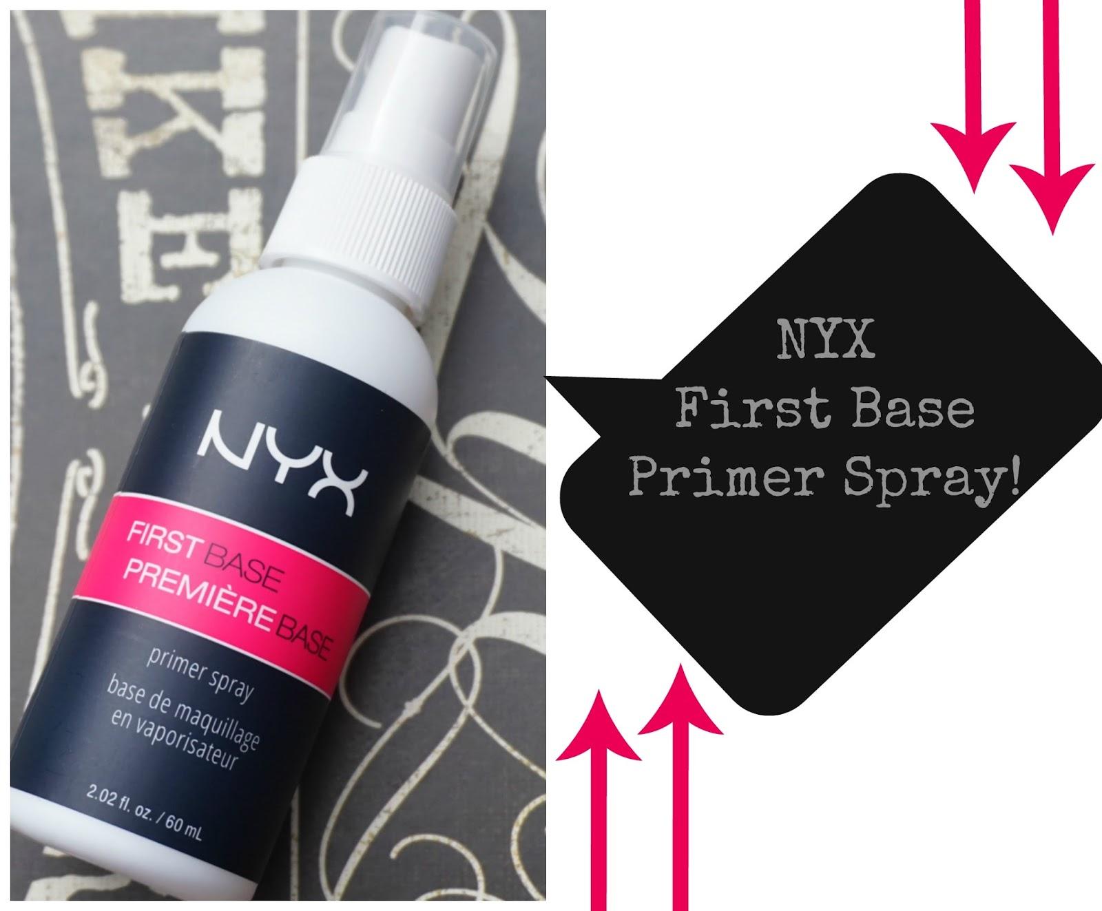makeup fashion royalty review nyx first base primer spray. Black Bedroom Furniture Sets. Home Design Ideas