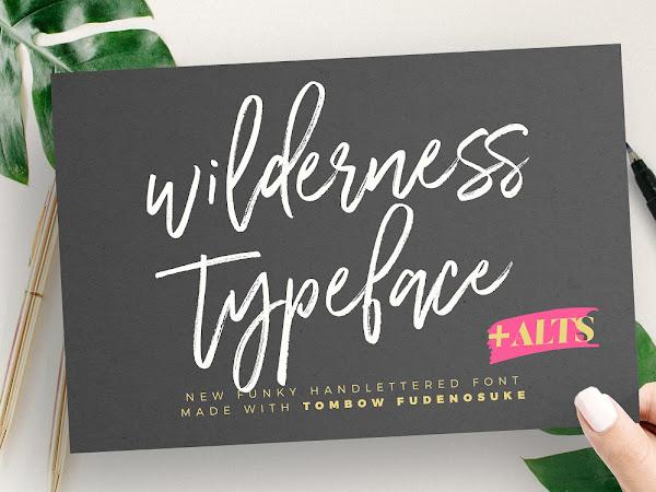 Wilderness Script Typeface Free Download