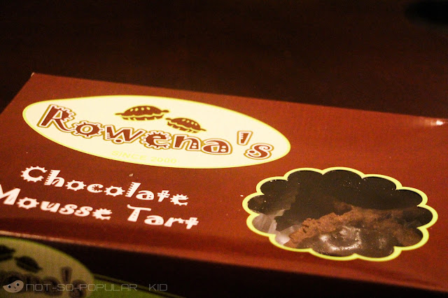Chocolate Mousse Tart by Rowena's in Tagaytay