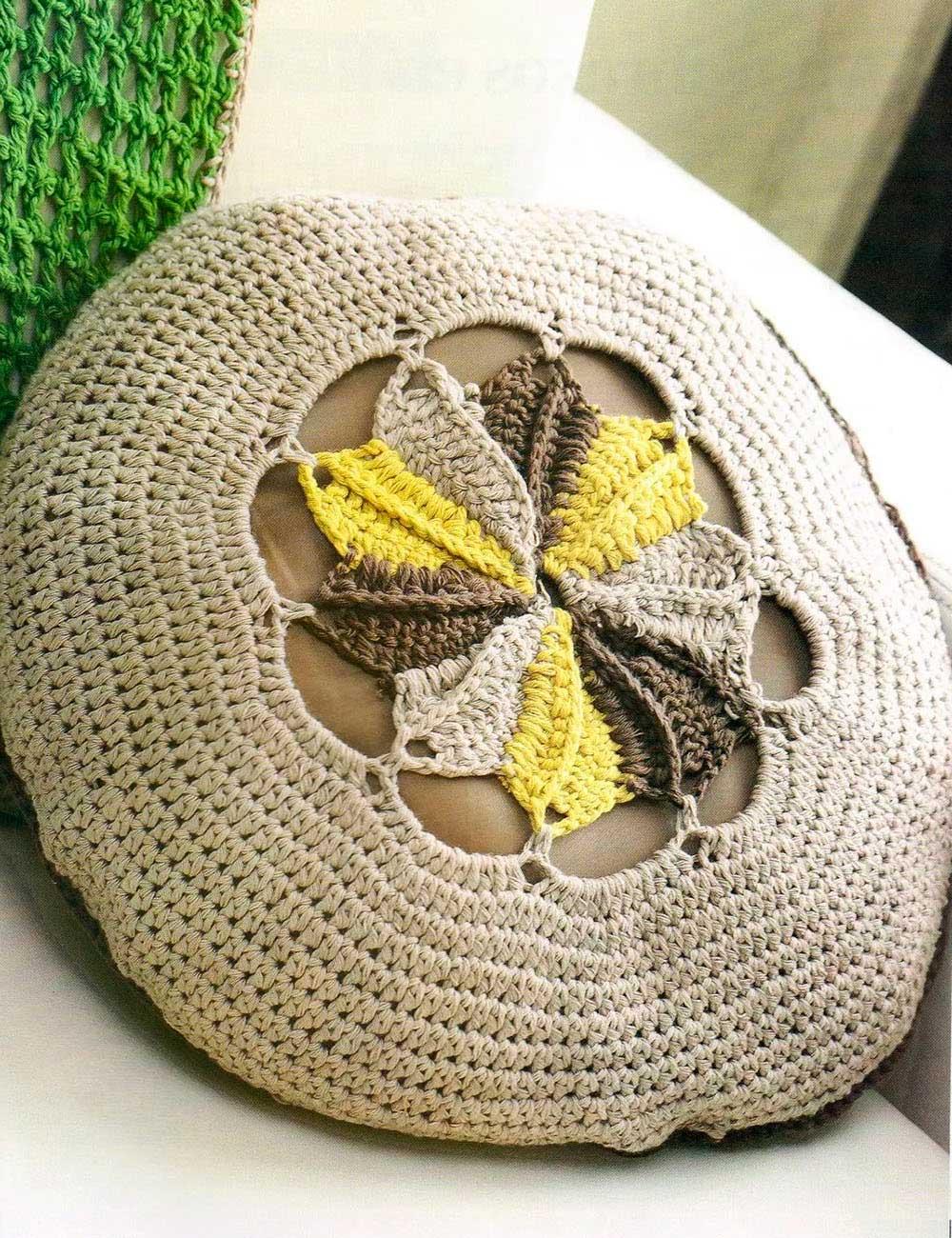 cojín, almohadón,ganchillo, crochet, hogar