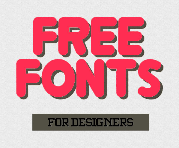 45 Best New Modern Free Fonts for Designers
