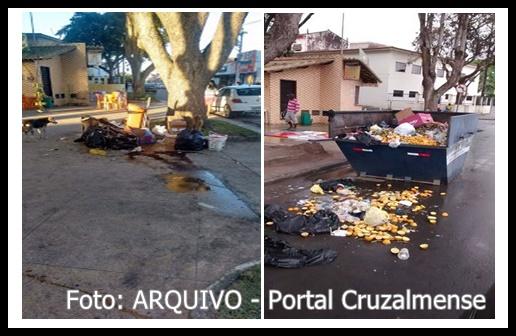 Vereadora Maria Cedraz faz indicação para acabar com ponto de lixo da Praça Senador Temístocles