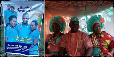 'I dey satisfy me well well'- Man who married two wives at same time in Delta State reveals how he handles them