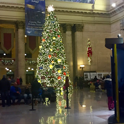 Christmas Tree in Union Station