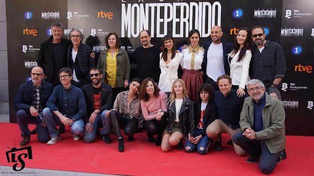 Equipo, La Caza Monteperdio, Photocall, RTVE, La 1,
