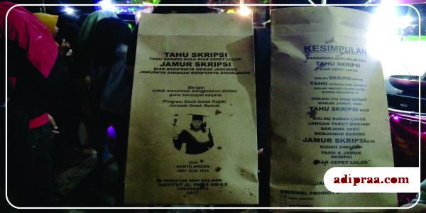 Tahu & Jamur Skripsi | adipraa.com