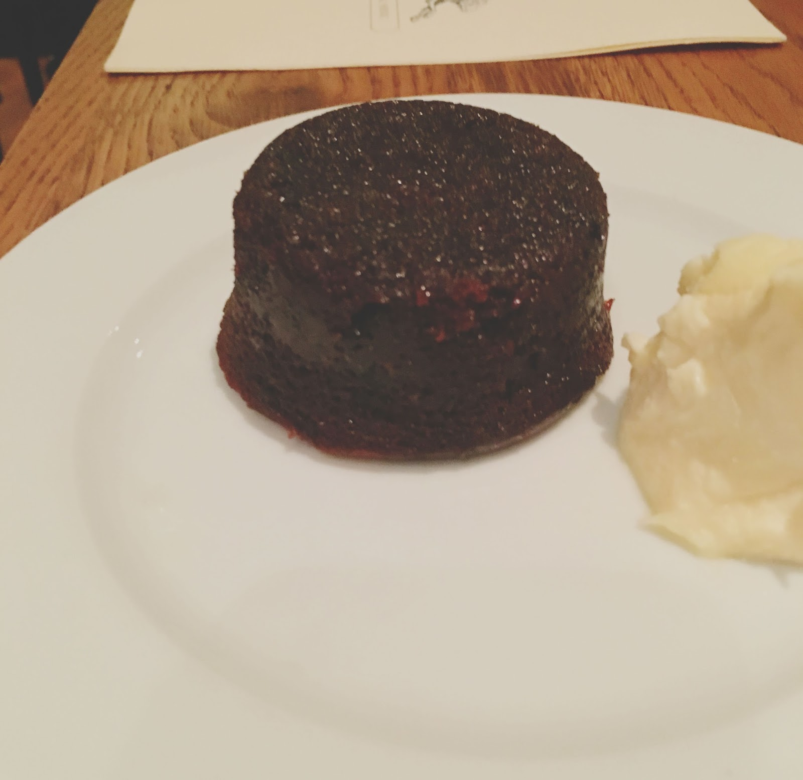 sticky toffee pudding at Hunky Dory - A restaurant in Houston, Texas