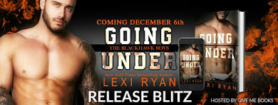 {Release Day Review, Excerpt & Giveaway} Going Under (The Blackhawk Boys #3) by Lexi Ryan