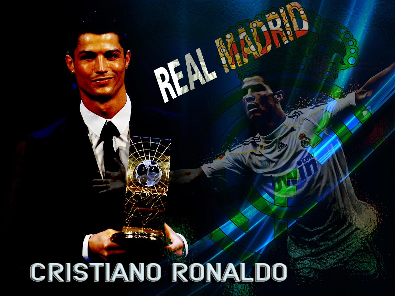 Koleksi Wallpaper Cristiano Ronaldo Di Real Madrid