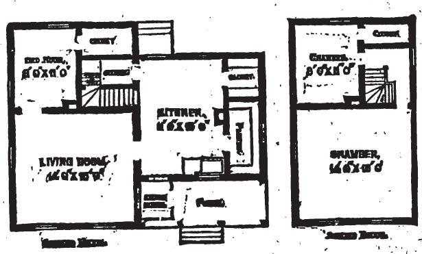 19th Century Historical Tidbits: 1895 Rural House Plans 2
