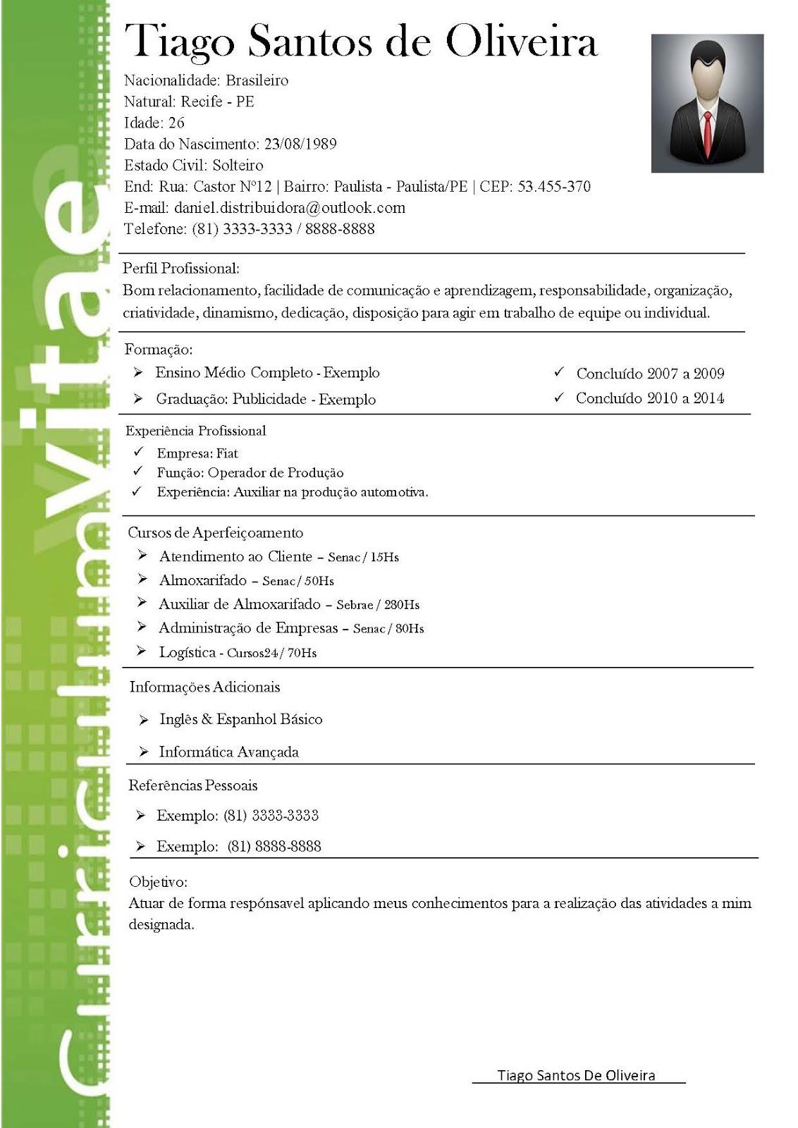 modelos de resume modelo curriculum modelo de curriculum vitae libreoffice modelo de