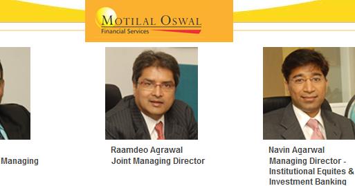 Project Report on Motilal Oswal Finance Ltd