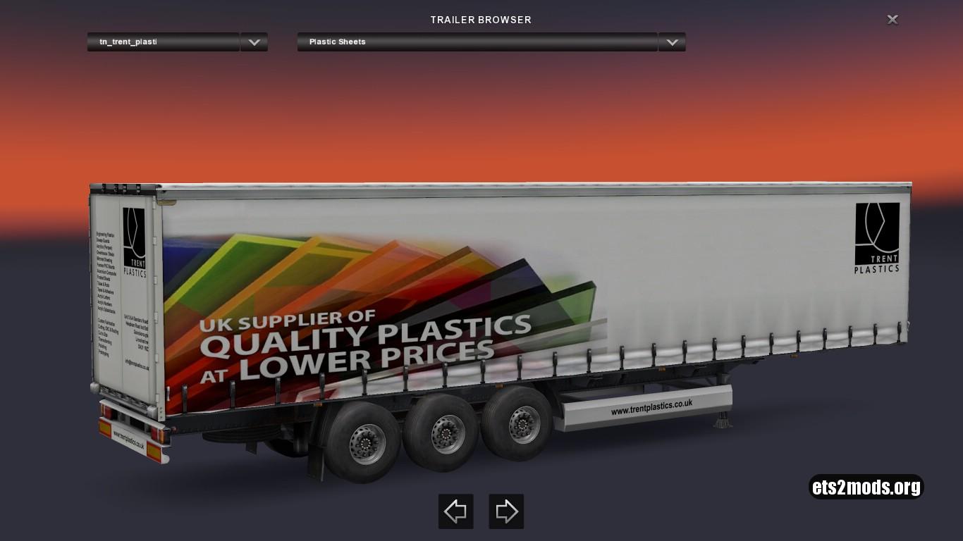 Standalone Trent Plastics Trailer