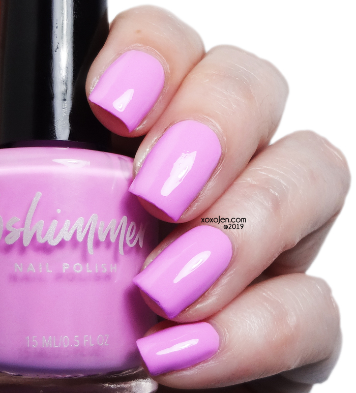 xoxoJen's swatch of KBShimmer Bored Shorts