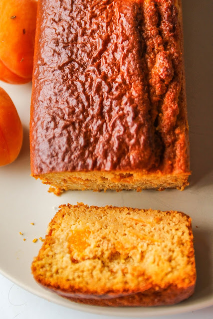 cake healthy abricots