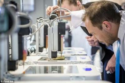 Nace el primer restaurante que imprime comida en 3D.