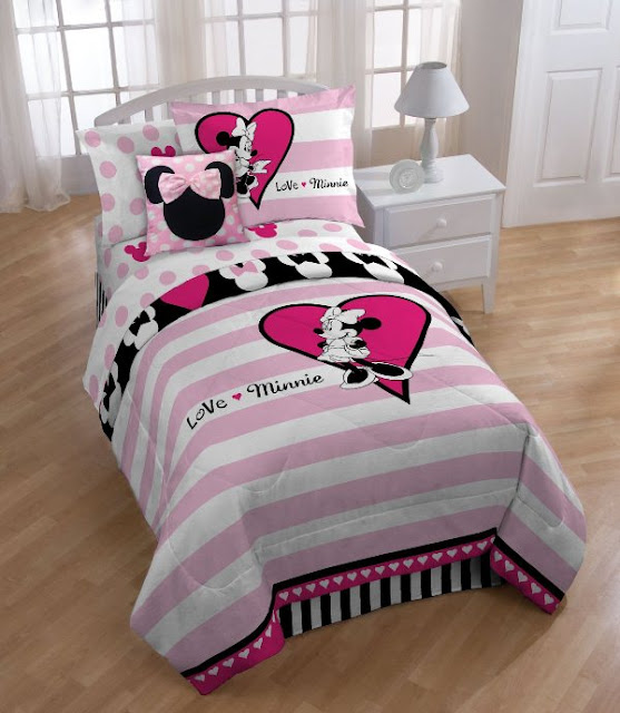 Fun Minnie Mouse Bedroom Designs for Kids