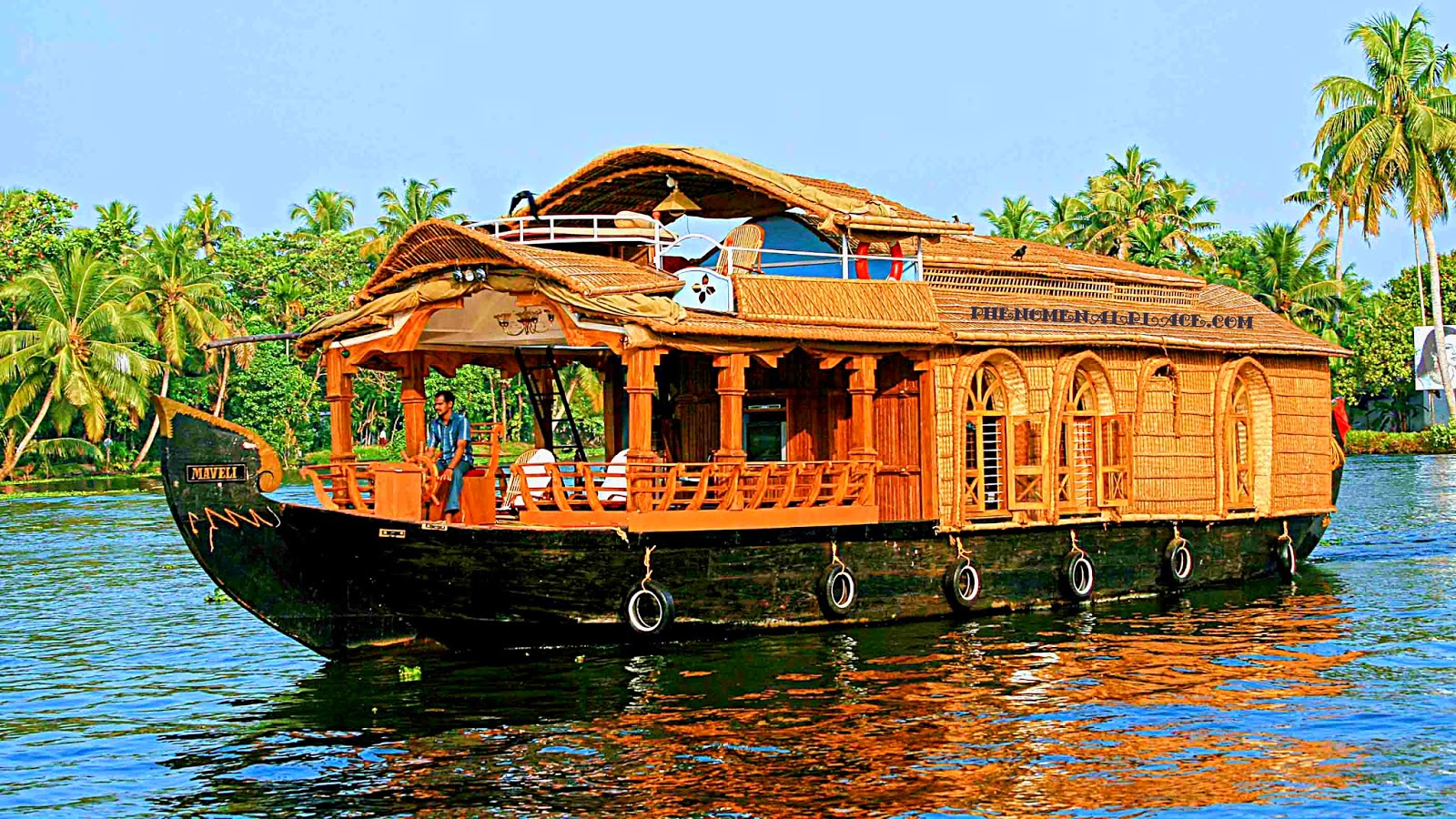 Dining Room Set For 4 How To Do An Alleppey Houseboat Trip Places On The