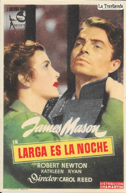 Larga es la Noche - Programa de Cine - James Mason - Kathleen Ryan